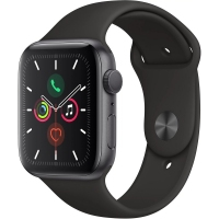 Apple Watch S5 44MM Black Sport Band