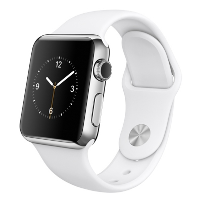 Apple Watch S1 38mm Stainless Steel Silver  (Гарантия 30 дней)