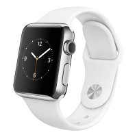 Apple Watch S1 42mm Stainless Steel Silver (Гарантия 30 дней)