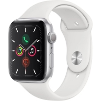 Apple Watch S5 44MM White Sport Band
