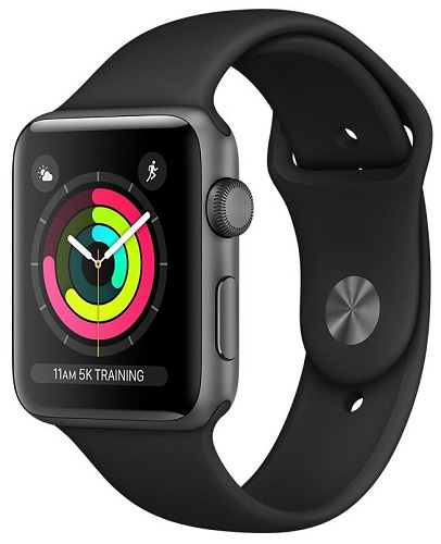 Apple Watch S3 38mm 4G Space Gray