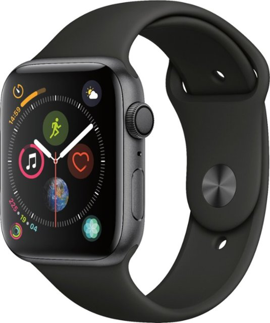 Apple Watch S4 44MM  Space Gray Aluminium Case (Гарантия 30 дней)